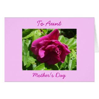 Cartão A Dia-Tia da mãe feliz