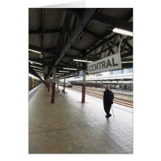 Cartão A estação central de Sydney