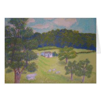 Cartão A fazenda de Jean