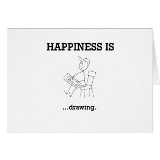 Cartão A felicidade… está tendo