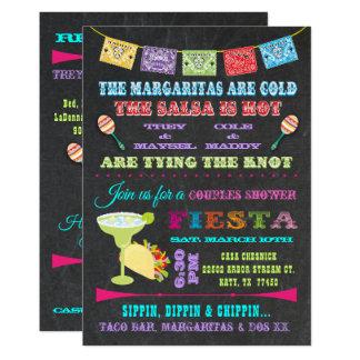 Cartão A festa mexicana acopla o chá de panela