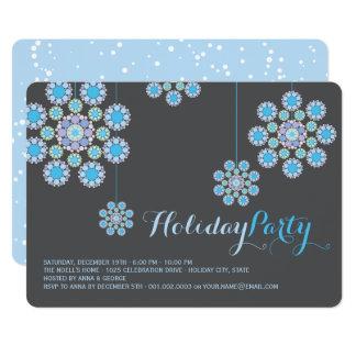 Cartão A festa natalícia de suspensão dos enfeites de