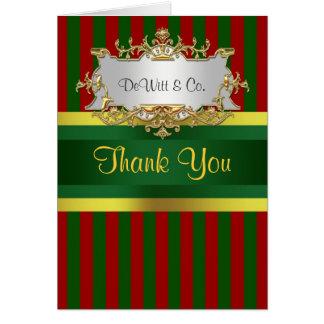 Cartão A festa natalícia do Natal convida o ouro vermelho