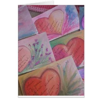 Cartão a fruta do espírito