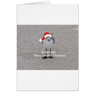 Cartão A gaivota do Natal