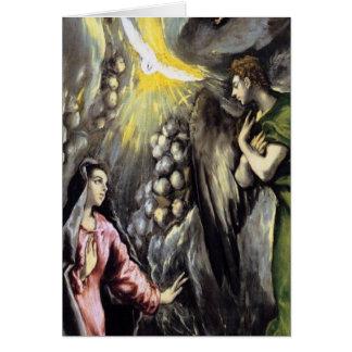 Cartão A glória do deus