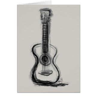 Cartão A guitarra de Annie