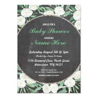 Cartão A hortelã floral da flor do vintage do chá de