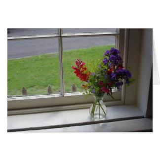 Cartão A janela de Jane Austen