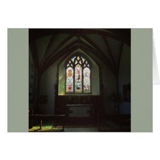 Cartão A janela de St David