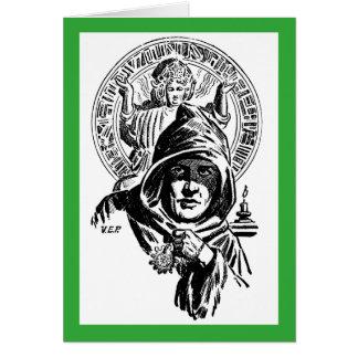 Cartão A Lama verde