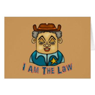 Cartão A lei