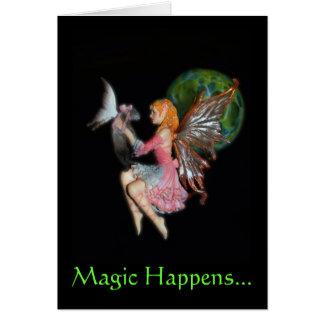 Cartão A mágica acontece…