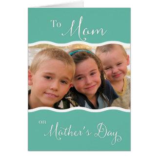 Cartão À mamã no dia das mães - foto feita sob encomenda
