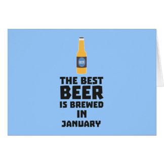 Cartão A melhor cerveja é em maio Z96o7 fabricado cerveja