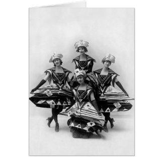 Cartão A menina do século - Musical 1916 de Ziegfeld