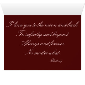 Cartão A meu noivo