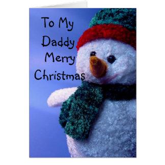 Cartão A meu pai, Feliz Natal