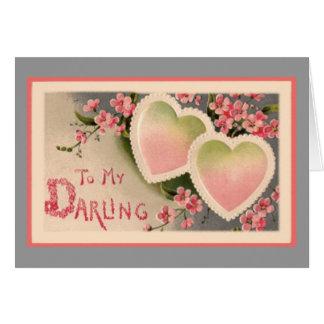 Cartão A meu querido