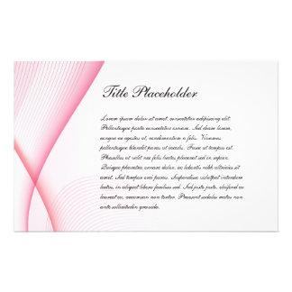 Cartão à moda 02 do convite panfletos coloridos