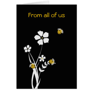 Cartão à moda do dia das mães do joaninha