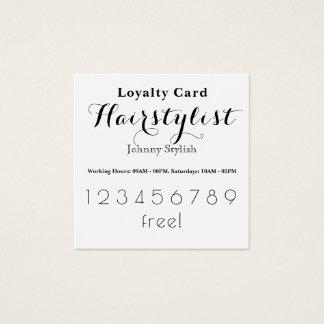Cartão à moda elegante do cliente da lealdade
