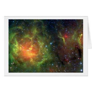 Cartão A nebulosa Trifid