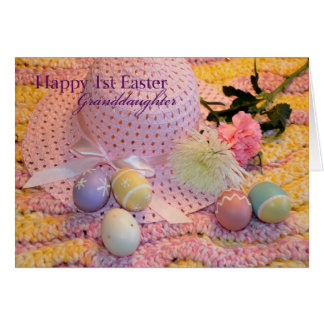 Cartão Á neta feliz da páscoa