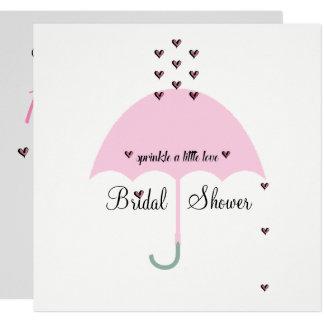 Cartão A NOIVA & os CO polvilham o chá de panela do amor