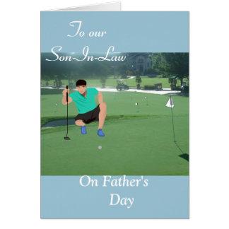 Cartão A nosso genro