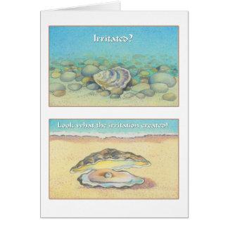 Cartão A ostra e a pérola - 8:28 dos romanos