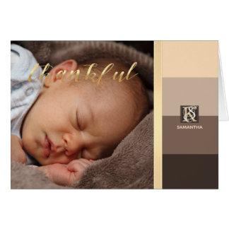 Cartão A paleta de cores de Latte do Mocha listra o