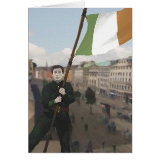 Cartão A páscoa irlandesa que aumenta 1916