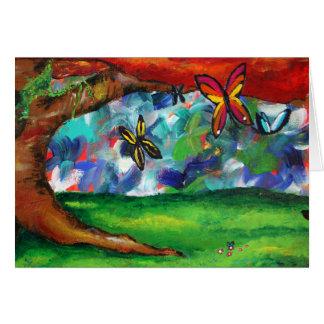 Cartão A pintura de Tabbitha
