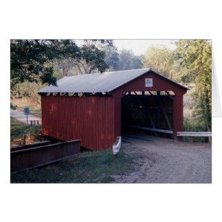 Cartão A ponte de Bell construiu 1888