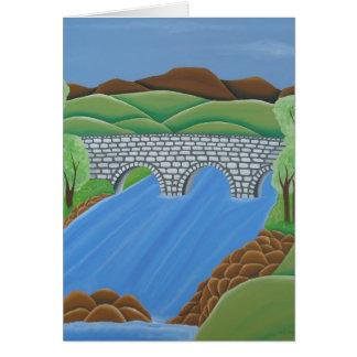 Cartão A ponte de Drowe, Ireland