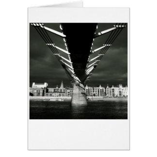Cartão A ponte do milênio