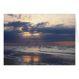 Cartão A praia