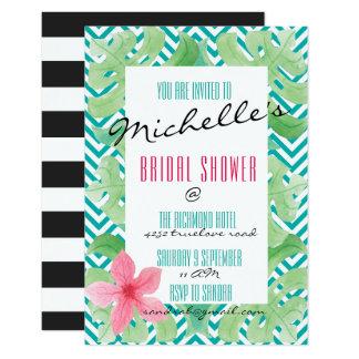 Cartão A praia tropical do verão convida