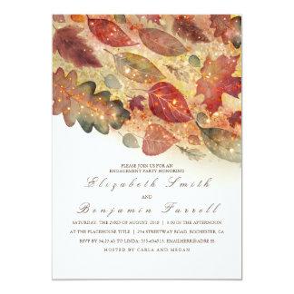 Cartão A queda deixa a festa de noivado