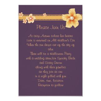 Cartão A queda roxa convida