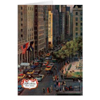 Cartão A Quinta Avenida por John hesita