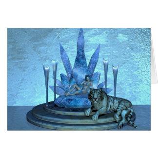 Cartão A rainha do gelo