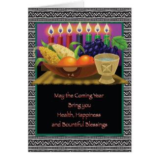 Cartão A recompensa de Kwanzaa