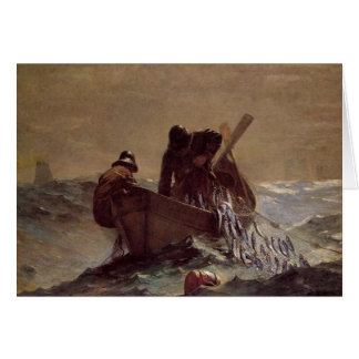 Cartão A rede dos arenques