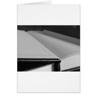 Cartão A segunda mão registra com páginas vazias em uma