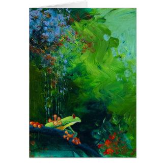 Cartão A selva chove I