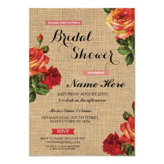 Cartão A serapilheira floral das rosas vermelhas do chá