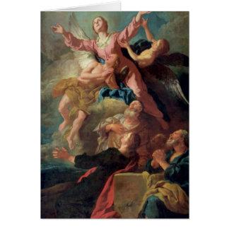 Cartão A suposição do Virgin