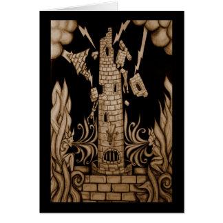 Cartão A torre Tarot